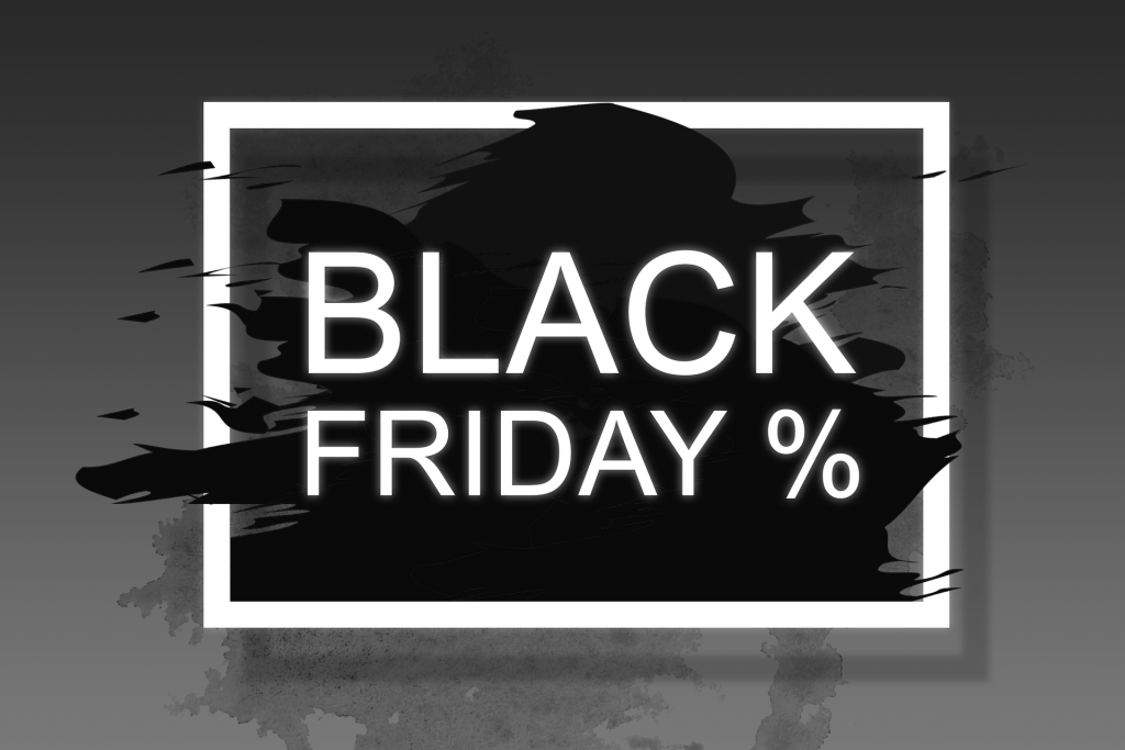 Black Friday %