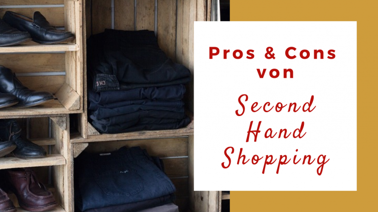 Pros Cons Second Hand Shopping